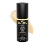 Inika - Certified Organic Liquid Foundation with Hyaluronic Acid 30ml - Cream