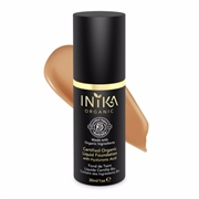 Inika - Certified Organic Liquid Foundation with Hyaluronic Acid 30ml - Honey