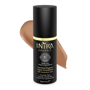 Inika - Certified Organic Liquid Foundation with Hyaluronic Acid 30ml - Tan