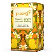 Pukka - Økologisk Te - Lemon Ginger Manuka Honey